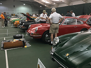 60th Porsche Parade in French Lick, Indiana, June 2015