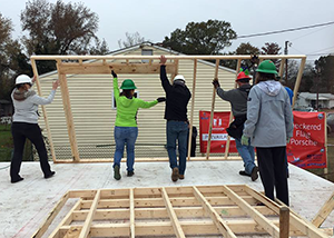 First Settlers Region : Habitat for Humanity Build, December 2018