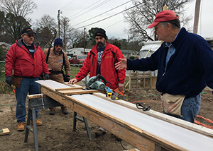 First Settlers Region : Habitat for Humanity Build, January 2018